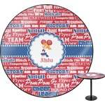 Cheerleader Round Table (Personalized)