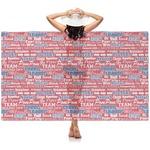 Cheerleader Sheer Sarong (Personalized)