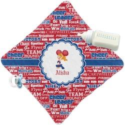 Cheerleader Security Blanket (Personalized)