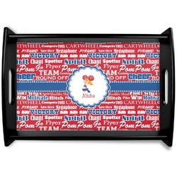 Cheerleader Wooden Trays (Personalized)