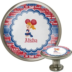 Cheerleader Cabinet Knobs (Personalized)