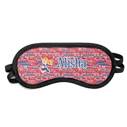 Cheerleader Sleeping Eye Mask (Personalized)