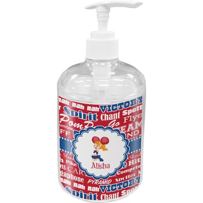 Cheerleader Acrylic Soap & Lotion Bottle (Personalized)