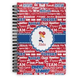 Cheerleader Spiral Bound Notebook (Personalized)