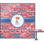 Cheerleader Square Table Top (Personalized)