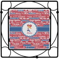 Cheerleader Square Trivet (Personalized)