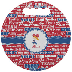 Cheerleader Stadium Cushion (Round) (Personalized)
