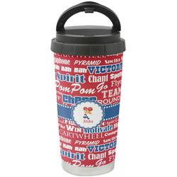 Cheerleader Stainless Steel Travel Mug (Personalized)