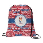 Cheerleader Drawstring Backpack (Personalized)