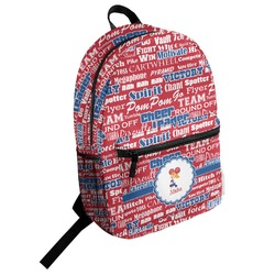 Cheerleader Student Backpack (Personalized)