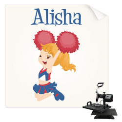 Cheerleader Sublimation Transfer (Personalized)