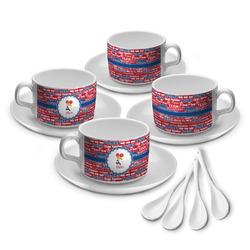 Cheerleader Tea Cup - Set of 4 (Personalized)