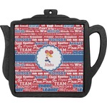Cheerleader Teapot Trivet (Personalized)