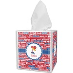 Cheerleader Tissue Box Cover (Personalized)