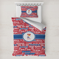 Cheerleader Toddler Bedding w/ Name or Text