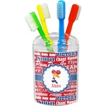 Cheerleader Toothbrush Holder (Personalized)