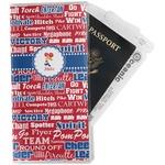 Cheerleader Travel Document Holder
