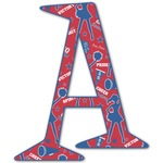 Cheerleader Letter Decal - Custom Sizes (Personalized)
