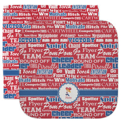 Cheerleader Facecloth / Wash Cloth (Personalized)