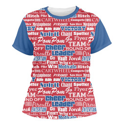 Cheerleader Women's Crew T-Shirt (Personalized)