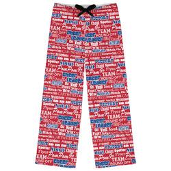 Cheerleader Womens Pajama Pants (Personalized)