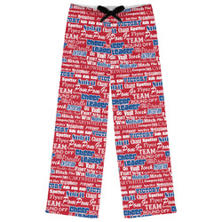 Cheerleader Womens Pajama Pants (Personalized)