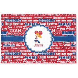 Cheerleader Woven Mat (Personalized)