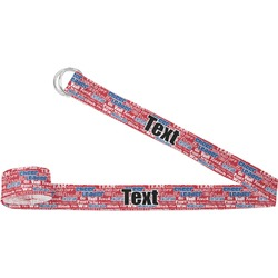 Cheerleader Yoga Strap (Personalized)