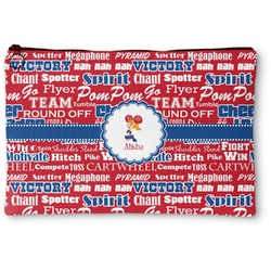 Cheerleader Zipper Pouch (Personalized)