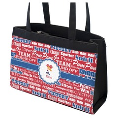 Cheerleader Zippered Everyday Tote w/ Name or Text