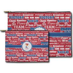 Cheerleader Zipper Pouch (Personalized)