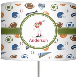 "Sports 13"" Drum Lamp Shade (Personalized)"