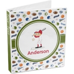 Sports 3-Ring Binder (Personalized)