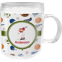 Sports Acrylic Kids Mug (Personalized)
