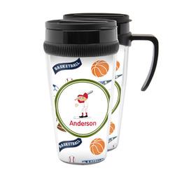 Sports Acrylic Travel Mugs (Personalized)