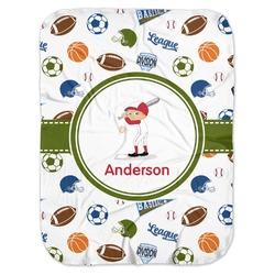 Sports Baby Swaddling Blanket (Personalized)