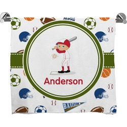 Sports Full Print Bath Towel (Personalized)