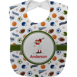 Sports Baby Bib (Personalized)
