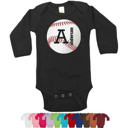 Sports Bodysuit - Long Sleeves - 0-3 months (Personalized)