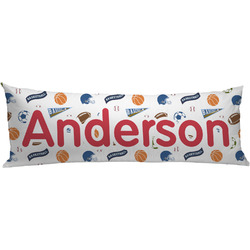 Sports Body Pillow Case (Personalized)