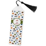 Sports Book Mark w/Tassel (Personalized)