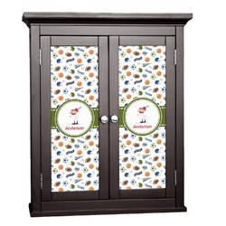 Sports Cabinet Decal - Large (Personalized)