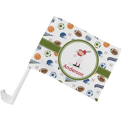 Sports Car Flag (Personalized)
