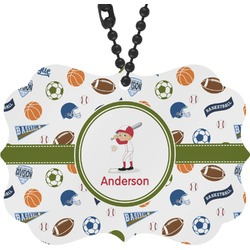 Sports Rear View Mirror Charm (Personalized)