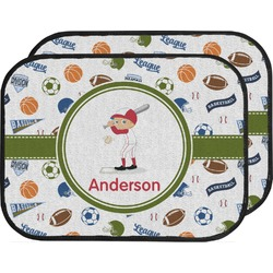 Sports Car Floor Mats (Back Seat) (Personalized)