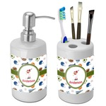 Sports Bathroom Accessories Set (Ceramic) (Personalized)