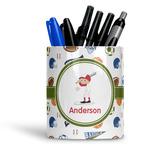 Sports Ceramic Pen Holder