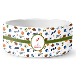 Sports Pet Bowl (Personalized)