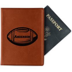 Sports Leatherette Passport Holder - Single Sided (Personalized)