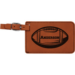Sports Leatherette Luggage Tag (Personalized)